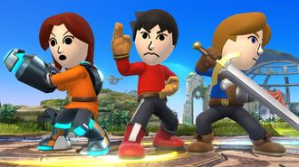 New Mii Fighter Details for Smash Bros. 3DS, Wii U