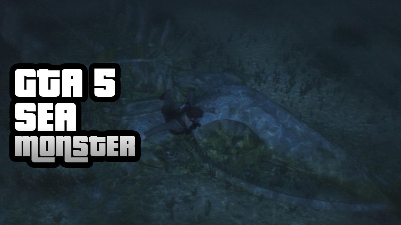 GTA 5 How To Find The Sea Monster