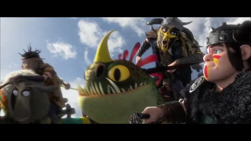 How To Train Your Dragon 2 - Dragon Racing Clip 2