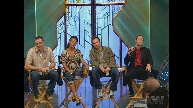 Stargate Atlantis TV Interview - On-Set Panel Video Part Two