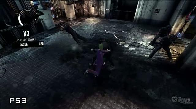 Batman Arkham Asylum Insider Video - Video Head-To-Head Batman Arkham Asylum