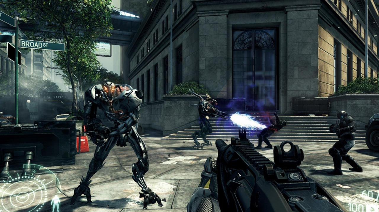Crysis 2 PS3 Footage