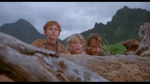 Jurassic Park - A flock of dinosaurs