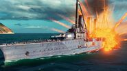World of Warships First Gameplay Trailer