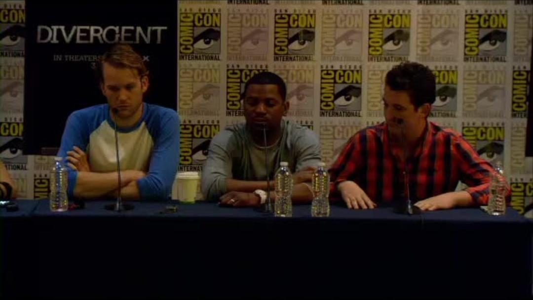 Divergent Comic-Con Press Conference Part 6