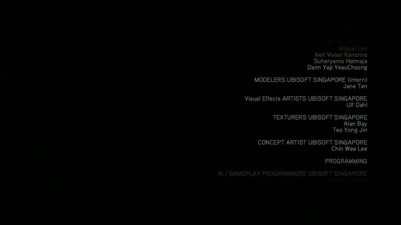 NextGenWalkthroughs Assassin's Creed Brotherhood - Credits
