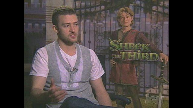 Shrek the Third Movie Interview - Justin Timberlake