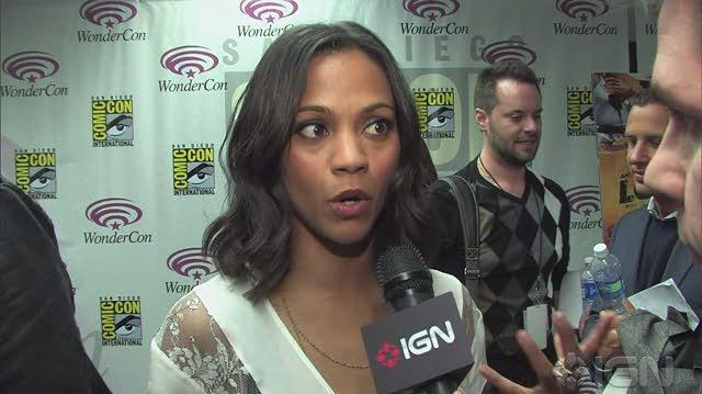 The Losers Movie Interview - WonderCon 10 Video Interview
