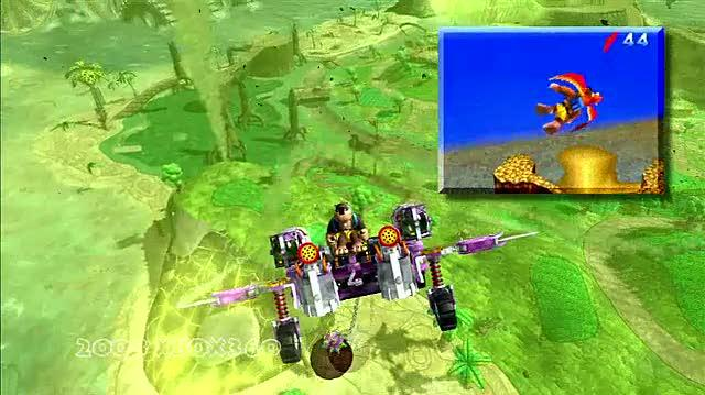 Banjo-Kazooie Nuts & Bolts Xbox 360 Trailer - Old and New