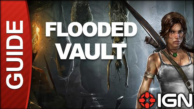 Tomb Raider Walkthrough - Tomb 06 Flooded Vault