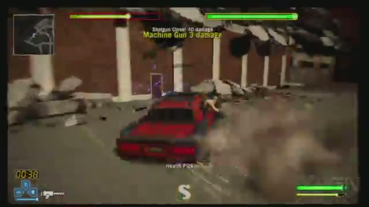 Twisted Metal Brothers Grimm Boss Battle