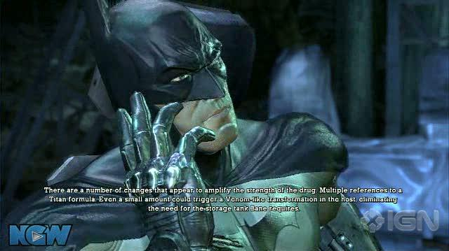 Batman Arkham Asylum Video Guide-Walkthrough - BAA - To the Batcave!