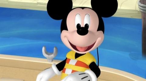 Mickey Mouse Club House Mickey's Big Splash (2009) - Clip Mickey goes fishing, pre