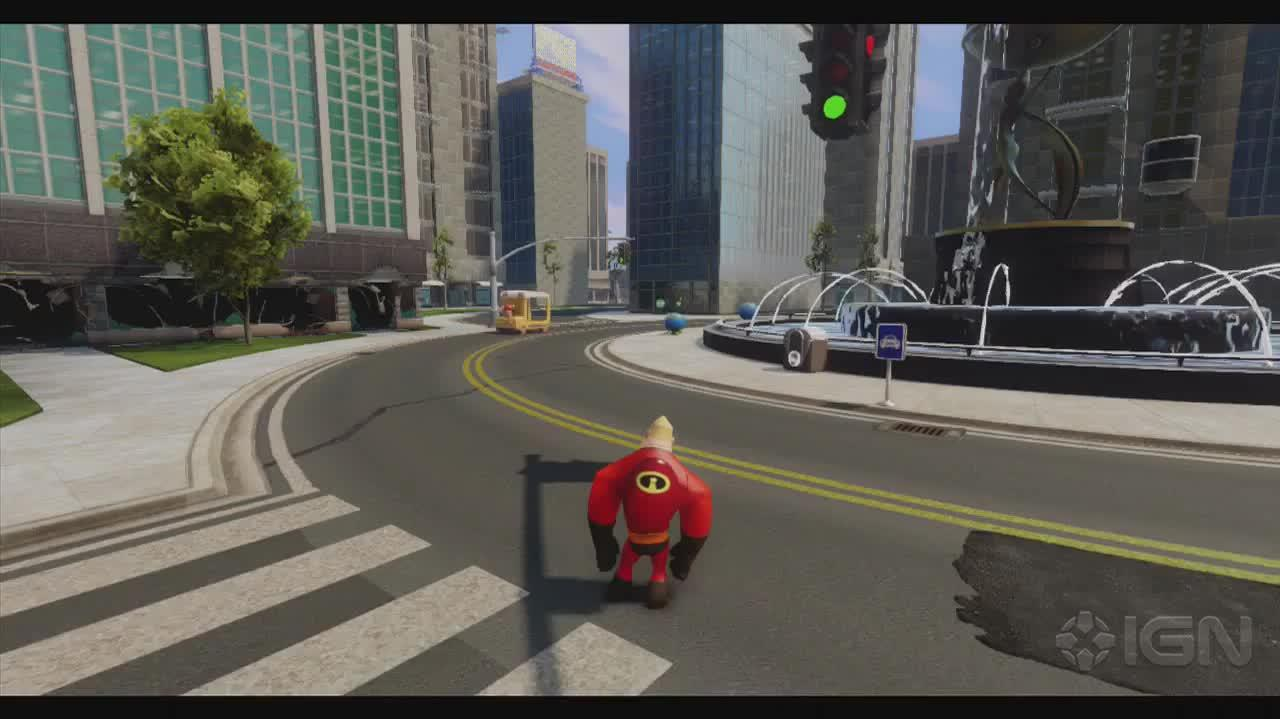 Disney Infinity Walkthrough - The Incredibles Path to Justice