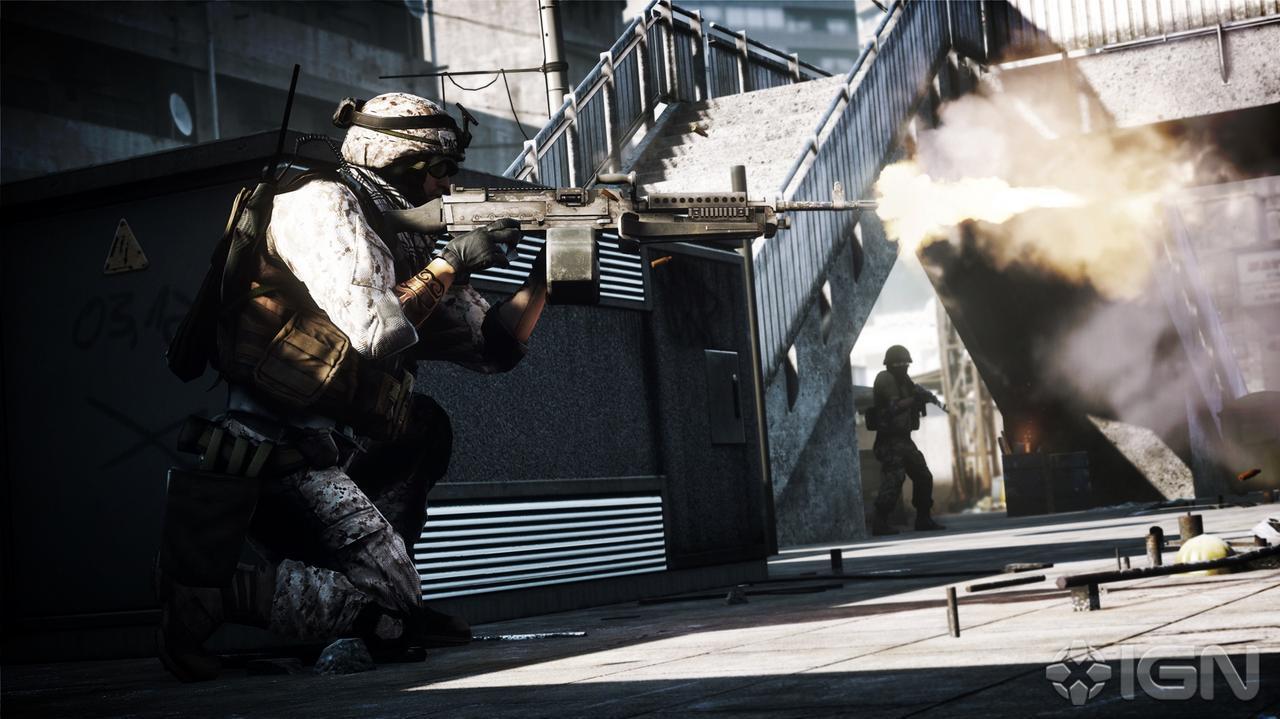 E3 2011 Battlefield 3 Operation Metro Multiplayer Trailer