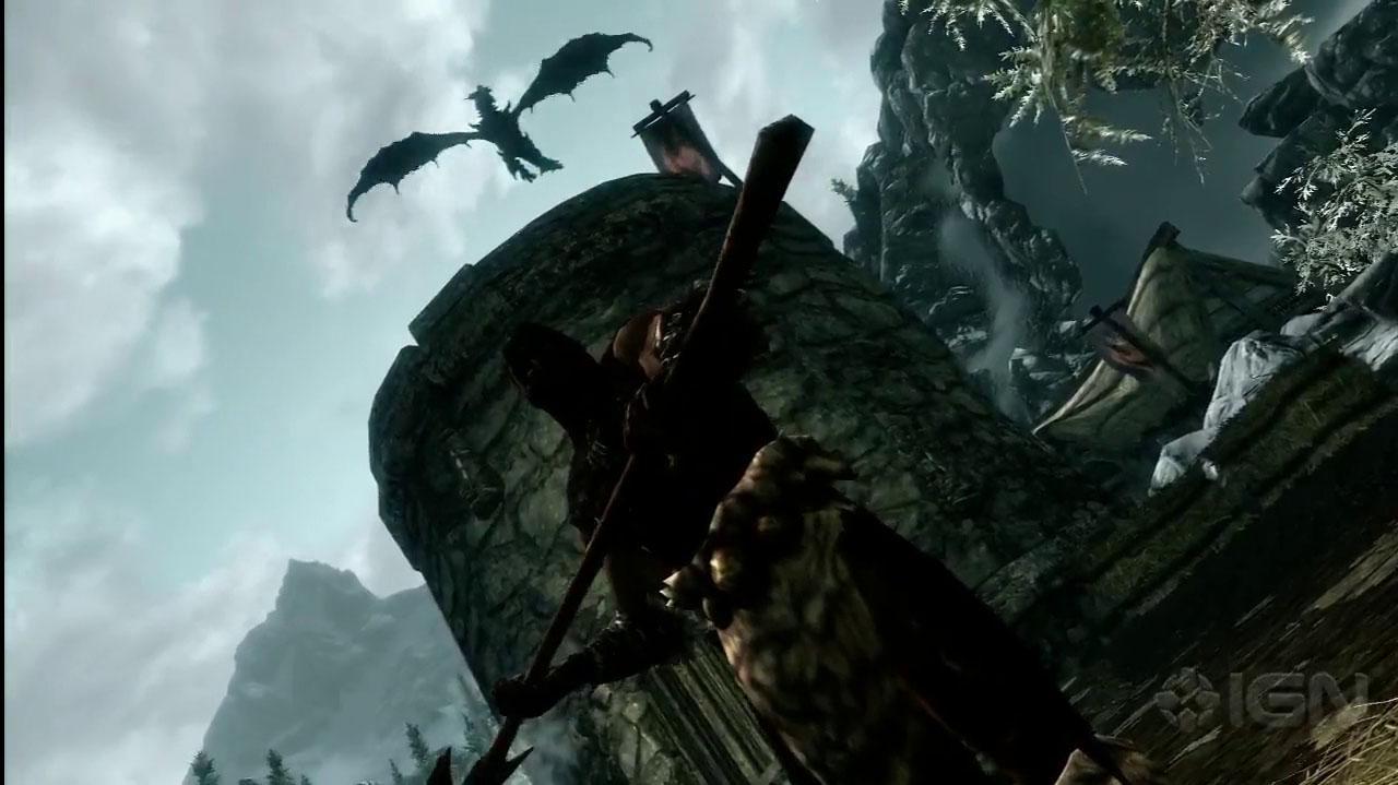 The Elder Scrolls V Skyrim The Dragon Returns