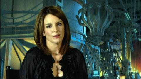 """Megamind (2010) - Interview """"Tina Fey On Her First Reaction To Seeing Her Character Roxanne Ritchi"""""""