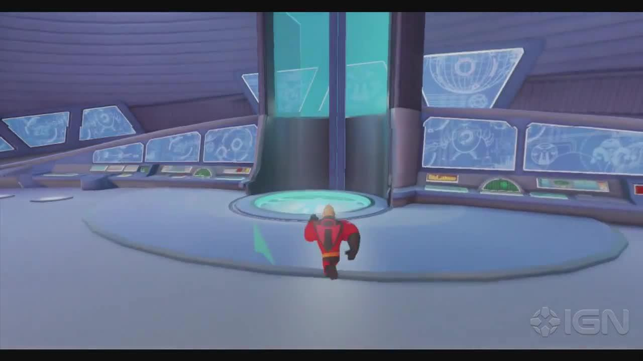 Disney Infinity Walkthrough - The Incredibles Learning to Glide