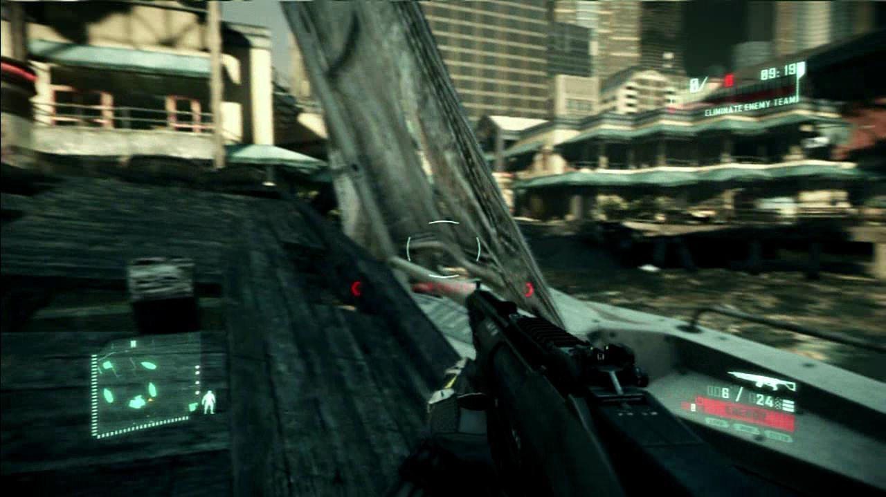 Crysis 2 Shootout on the Docks