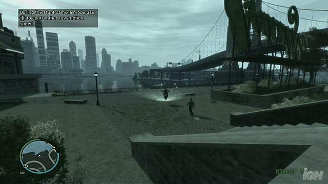 Grand Theft Auto IV PC Games Gameplay - Stunt Jump