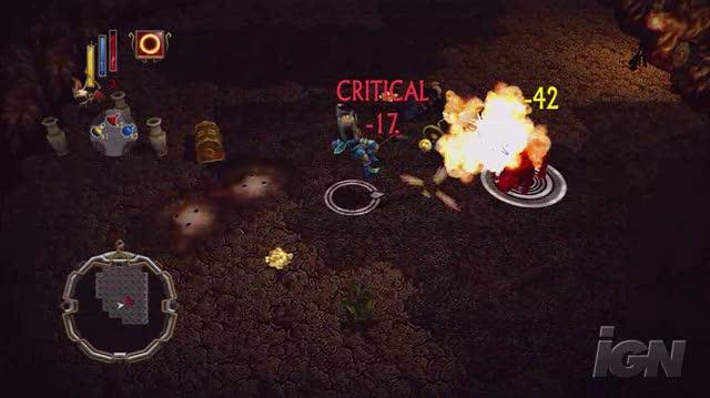 Arkadian Warriors Xbox Live Gameplay - Dungeon Crawl )HD)