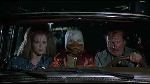 Howard the Duck - on the run