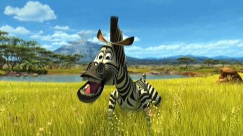 Madagascar Escape 2 Africa (2008) - Clip Zebras spit too