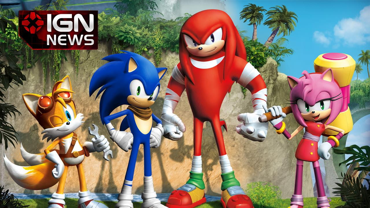 News Sonic Redesigned for New Game Sonic Boom