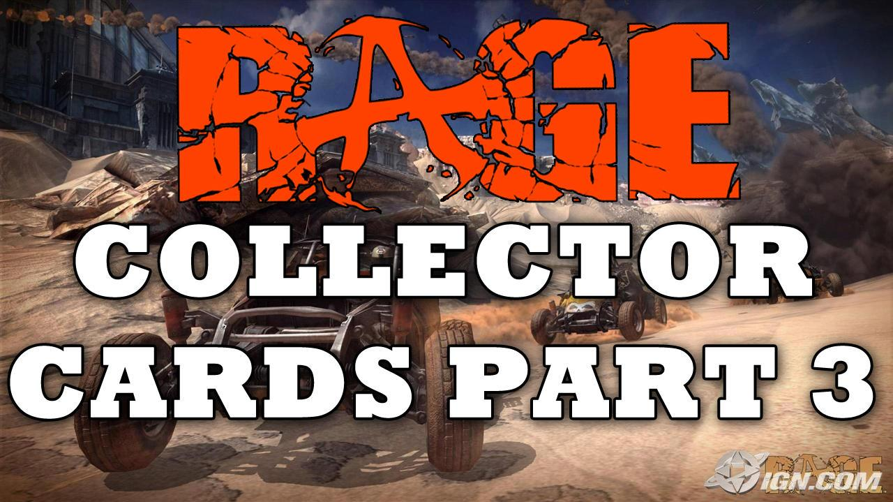 Rage All Collector Card Locations (Part 3 6) HD