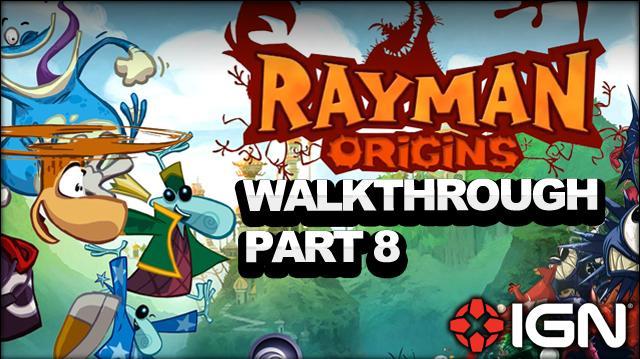 Rayman Origins Walkthrough - Desert of Dijiridoos Crazy Bouncing (Part 8)