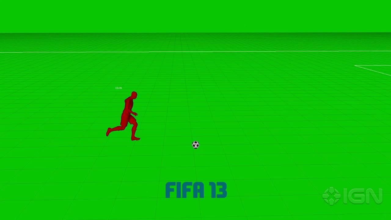 FIFA 14 Pure Shot Tech Demonstration