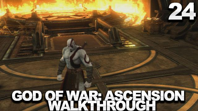 God of War Ascension Walkthrough Part 24 - The Shoulder of Apollo