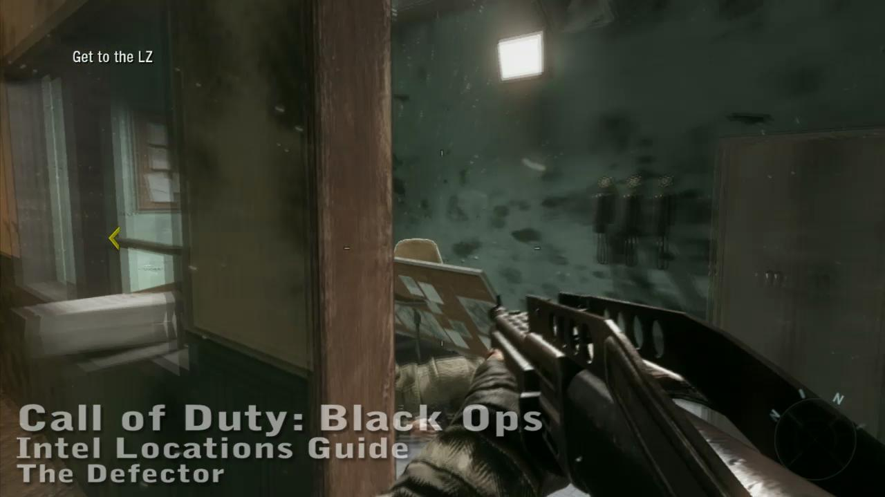 Call of Duty Black Ops - Intel Location Guide - The Defector