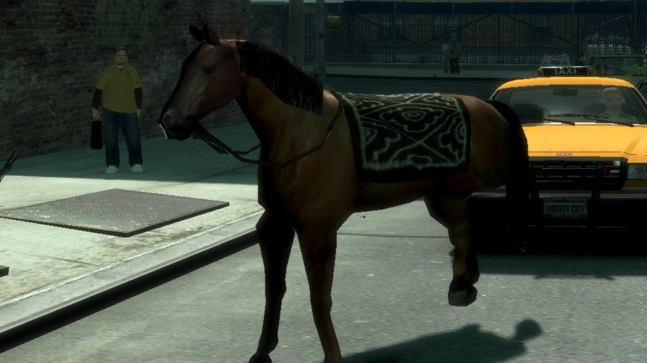 Horse Mod for Grand Theft Auto IV - GTA IV Mods