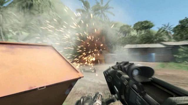 Crysis PC Games Trailer - New Trailer with Explosions and Aliens