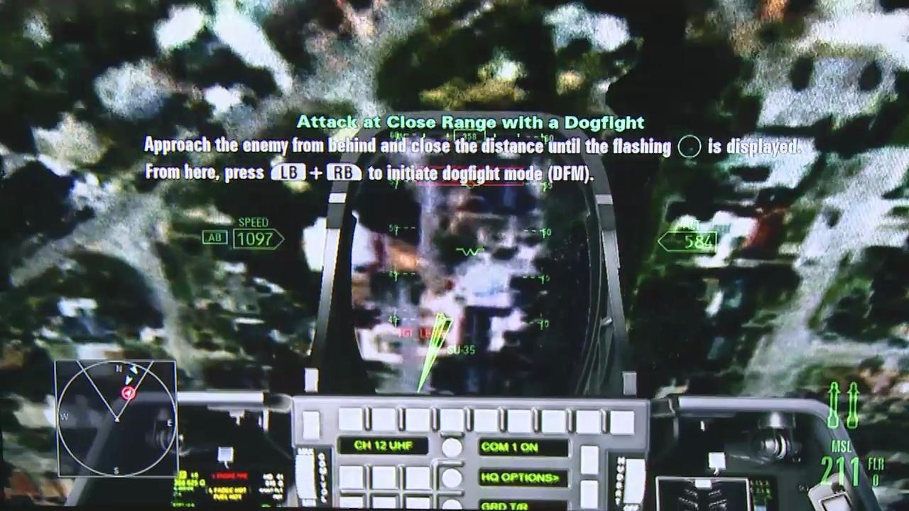 Gamescom Ace Combat Assault Horizon Dog Fight ( Off-Screen)