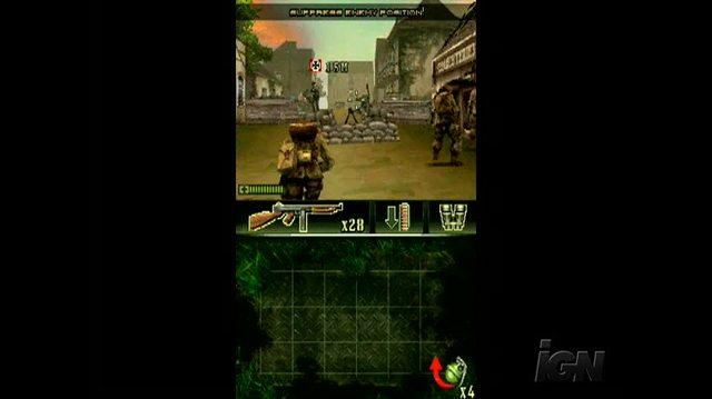Brothers in Arms DS Nintendo DS Trailer - Open Fire
