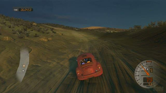 Baja Edge of Control PlayStation 3 Gameplay - Desert Bug