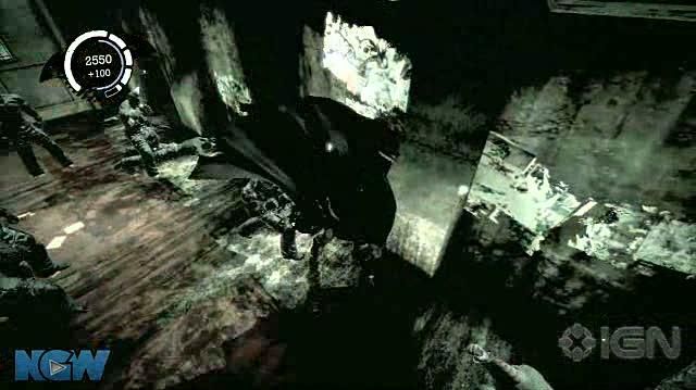 Batman Arkham Asylum Video Guide-Walkthrough - BAA - Party Pooper