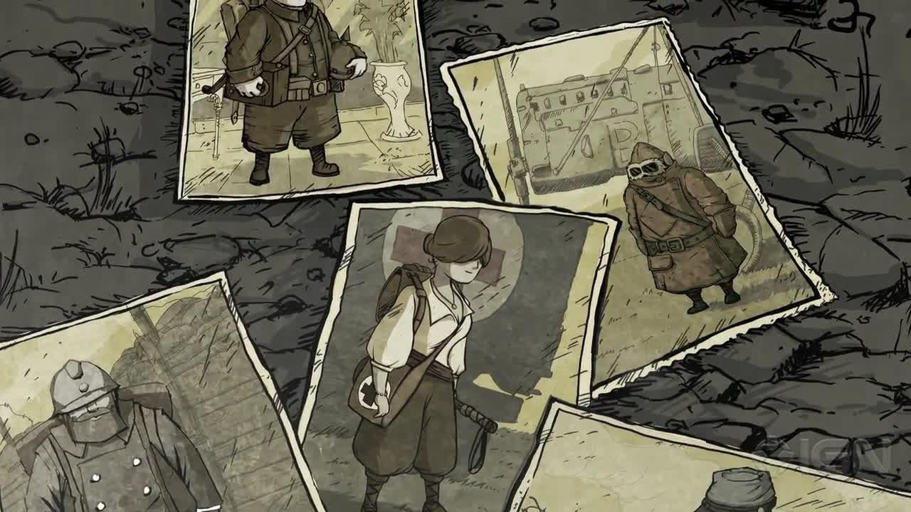 Valiant Hearts The Great War - Announcement Trailer
