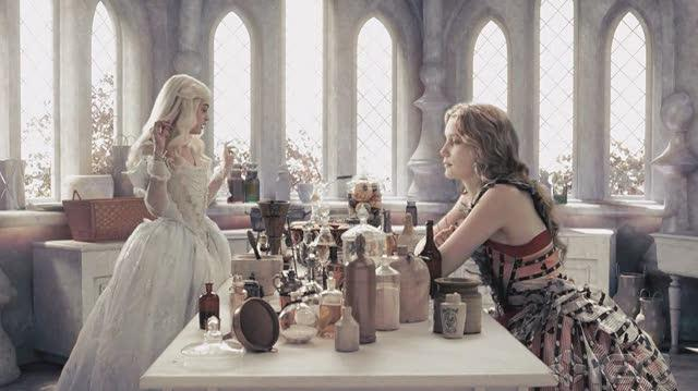 Alice in Wonderland (2010) Movie Clip - Potion Making
