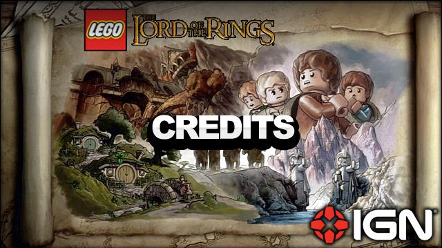 LEGO The Lord of the Rings Ending Credits