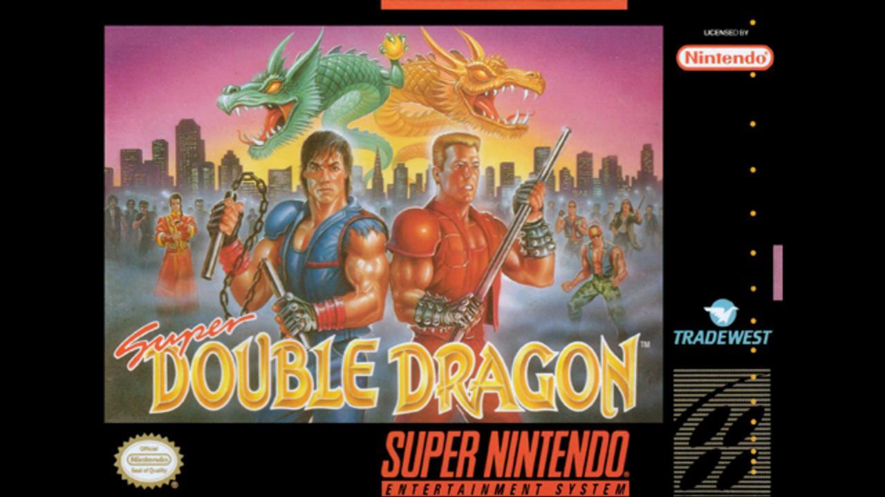 Super Double Dragon Enter the Nunchuck
