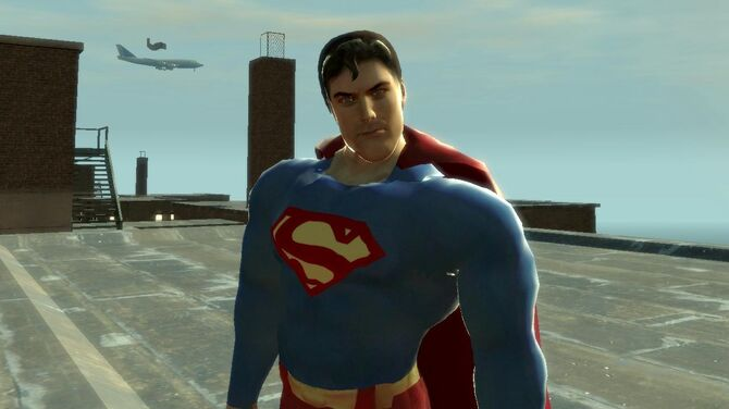 Superman Flying Mod for Grand Theft Auto IV - GTA IV Mods