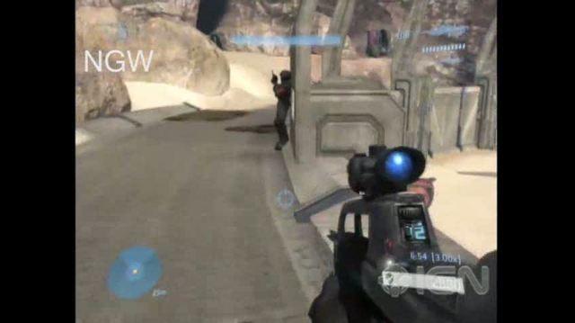 Halo 3 X360 - Walkthrough - Halo 3 - The Ark - Hunters