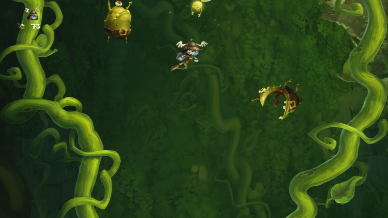 Rayman Legends Walkthrough Toad Story - 6000 Feet Under