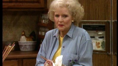 Golden Girls The Complete Collection (2010) - Clip Falling Leaf Story