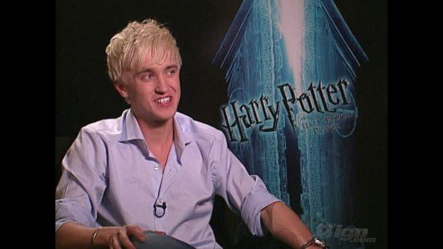 Harry Potter and the Half-Blood Prince Movie Interview - Tom Felton