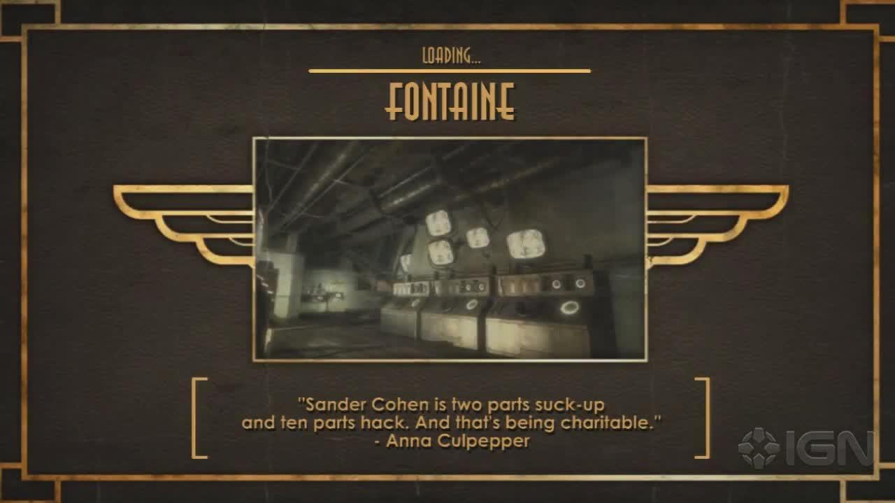 BioShock - Fontaine Falls - Gameplay