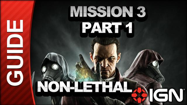 Dishonored - The Knife of Dunwall DLC - Low Chaos Walkthrough - Mission 3 The Surge pt 1